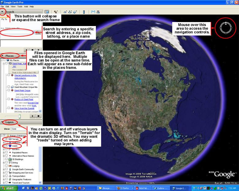GOOGLE EARTH MANUAL