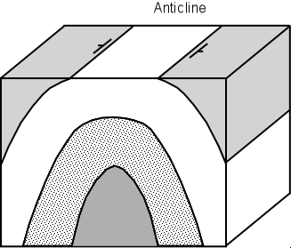 Image Gallery Anticline Diagram