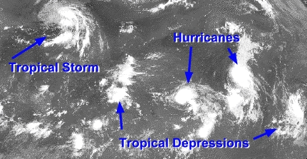 Define tropical storm
